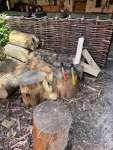 W&W making a Scottish / Irish Vernacular Hedge Chair