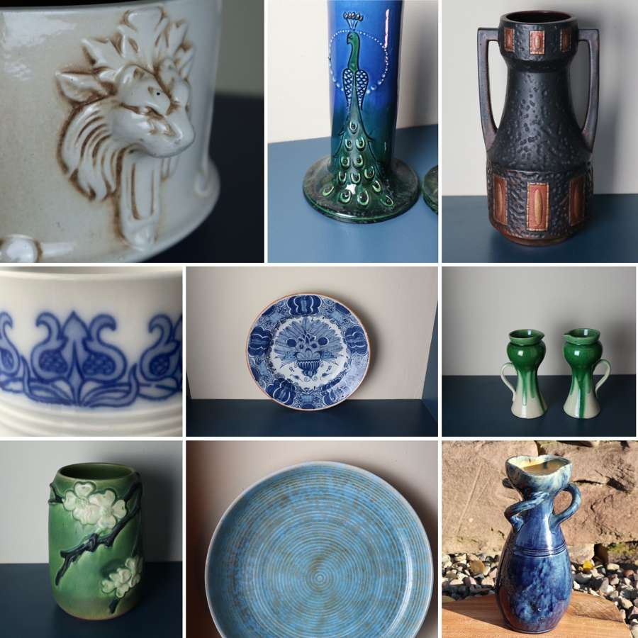 Ceramics, glass & bakelite