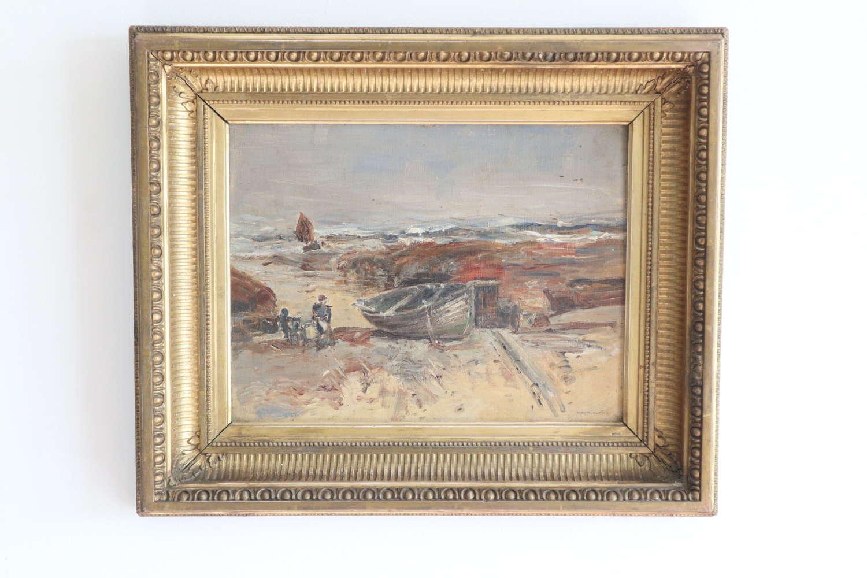 Victorian / Scottish oil painting, Mason Hunter (1854-1921) c.1883.