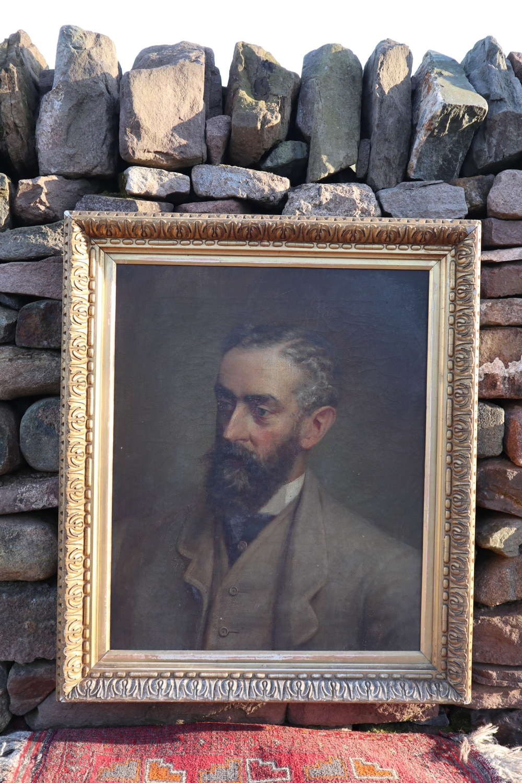 Victorian oil painting, John Charles Dundas (1845-92) c.1891.
