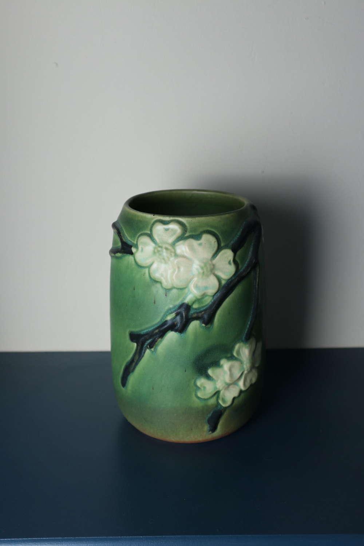 Arts & Crafts Roseville art pottery vase c.1919