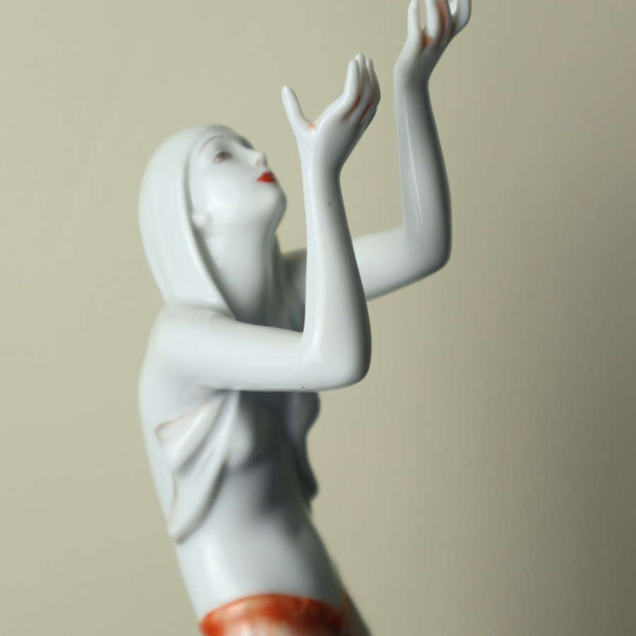 Art Deco Rosenthal 'Prayer Dancer' figurine 1938.