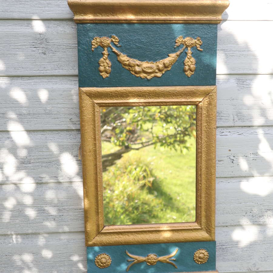 Swedish Empire style wall mirror c.1890-1910.