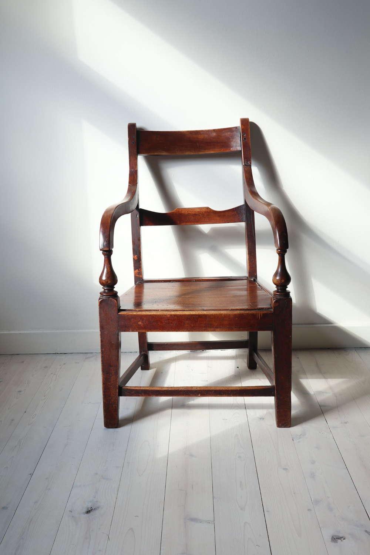 Scottish Vernacular Glasgow Pattern Joined Armchair c.1880