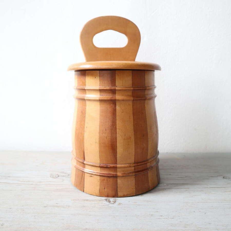 Scottish Vernacular staved / banded salt box c.1890-1920