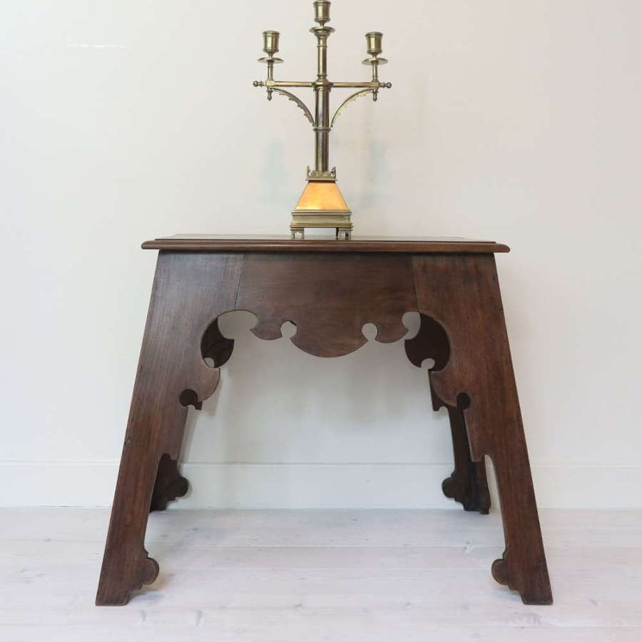Arts & Crafts, Liberty Style Anglo-Moorish Lamp Table c.1910
