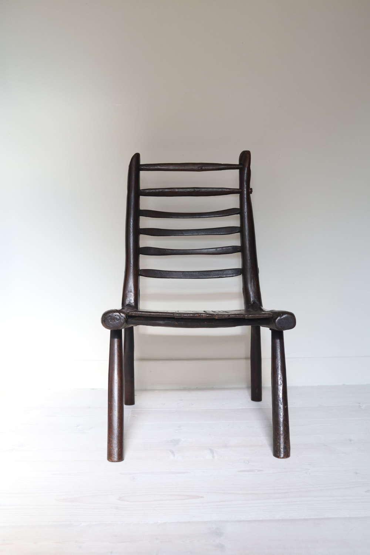 19th Century Scottish vernacular Sutherland / Caithness stick chair